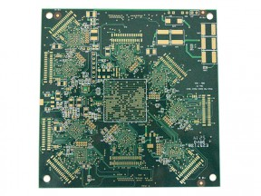 ENIG board with plugging resin board