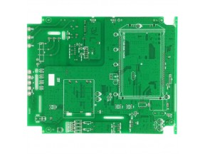 Double layer pcb for electronic meters