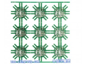 Double layer pcb for drivers