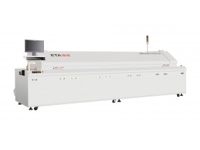 Large size lead-free SMT reflow oven with 8 heating zones E8