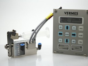VERMES Microdispensing Piezo System - LED Conductive Dispensing