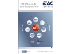 iTAC.MES.Suite for Electronics Manufacturing