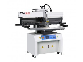 Semi-auto SMT Solder Paste Printer for 1200mm LED