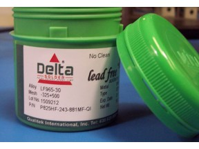 New! DSP 825HF No-Clean Temperature Stable Solder Paste