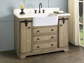 "Homestead 48"" Farmhouse Vanity"
