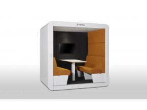 Smartblock FD - Meeting Pod on Wheels - for up to 6 People