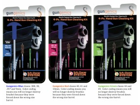 Gungenics Quik-Change Gun Cleaning Kits