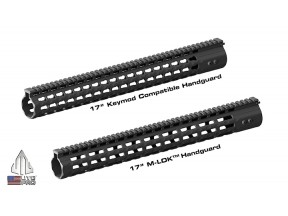 "UTG PRO M-LOK™ & Keymod Super Slim Free Float 17"" AR308 Handguards"