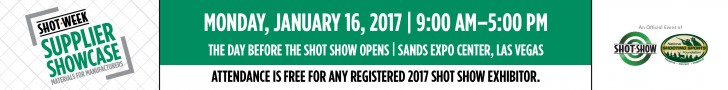 Supplier Showcase - Monday, January 16, 2017