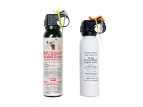Frontiersman Bear Spray (9.2 oz) & Practice Bear Spray (7.9 oz)